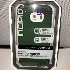 Samsung Galaxy S6 Incipio Hybrid Case